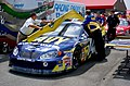 US Navy 040429-N-6501M-001 NASCAR race officials use a template to measure the profile of the No. 14 Navy-sponsored Chevy Monte Carlo.jpg