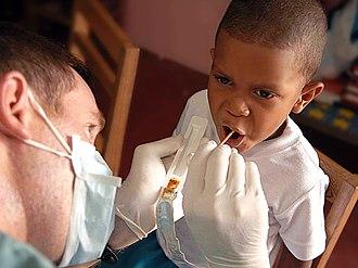 Fluorine - Topical fluoride treatment in Panama