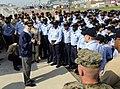 US Navy 090829-N-7280V-366 Secretary of the Navy (SECNAV) the Honorable Ray Mabus addresses Sailors.jpg
