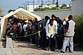 US Navy 100126-N-6247V-043 Hundreds of Haitian-Americans stand in line in front of the U.S. Embassy in Port-au-Prince, Haiti.jpg