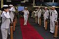 US Navy 100430-N-8273J-342 Adm. Gary Roughead departs USS Iwo Jima (LHD 7).jpg
