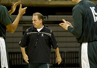 Tom Izzo American basketball player and coach