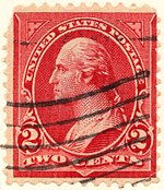 George Washington, 2¢, type III