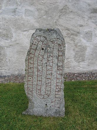 Runestone styles - Image: U 336, Orkesta