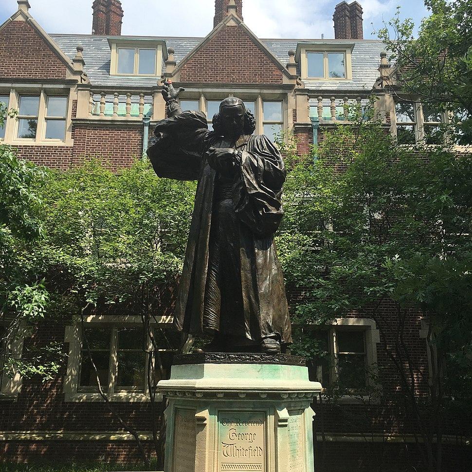 U Penn Statue