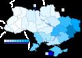 Ukraine Presidential Dec 2004 Vote (Yanukovych)a.png