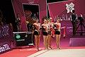 Ukraine Rhythmic gymnastics at the 2012 Summer Olympics (7916256570).jpg