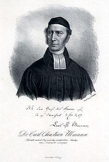 Karl Christian Ulmann Baltic-German theologian