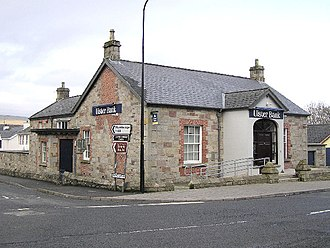 Gortin - The Ulster Bank in Gortin