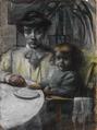 Umberto Boccioni – La moglie di Balla con la figlia.tiff