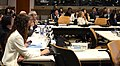 Un istante della XVIII Infopoverty World Conference presso il Palazzo di Vetro delle Nazioni Uniti a New York, il 13 aprile 2018.jpg