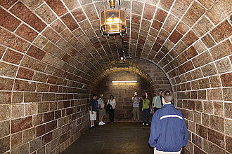 Kehlsteinhaus - Underground passage to the Kehlsteinhaus elevator