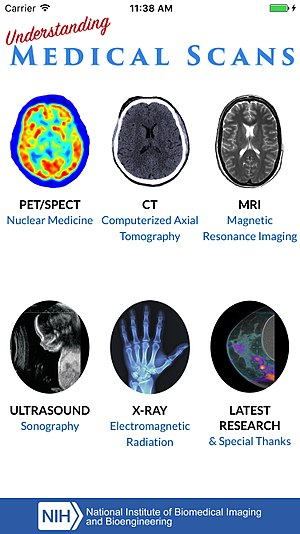 National Institute of Biomedical Imaging and Bioengineering - Understanding Medical Scans, an app for free download at the App Store