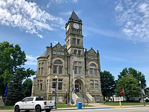 Union County Courthouse in Liberty