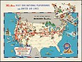 United Air Lines mainliner vacation map - the main line airway to the nation's greatesst vacationlands east and west (20116883143).jpg