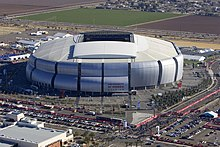 University Of Phoenix Stadium A Sports In Glendale Arizona For Which The Corporation Paid Naming Rights From 2006 To 2018