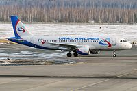 VQ-BCZ - A320 - Ural Airlines