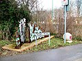 Urban Art, Nobel Road, Clifton - geograph.org.uk - 126709.jpg