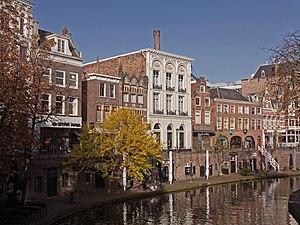 Oudegracht - Image: Utrecht, RM panden aan de Oudegracht 107 119oneven foto 7 2015 11 01 10.11