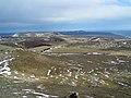 Utsikt over berg pa Sydisland. Sno.jpg