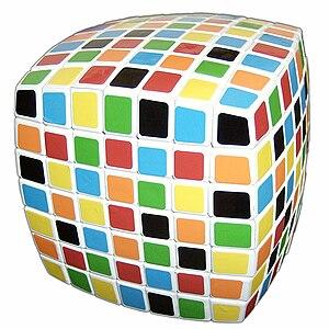 V-Cube 7 - The V-Cube 7 in a scrambled state
