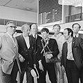 V.l.n.r. pater J. van Eupen, J. H. Davio, P. Nak, B. de Wolf, B. Hendriks en dr, Bestanddeelnr 922-5799.jpg