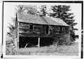 VIEW FROM SOUTH - Johannes Decker Coach House, Wallkill, Ulster County, NY HABS NY,56-SHWA,3B-1.tif