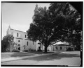 VIEW SOUTH SIDE OF CHAPEL. - Knowles Memorial Chapel, 1100 Holt Avenue, Winter Park, Orange County, FL HABS FLA,48-WIPA,1-5.tif
