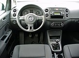 VW Golf Plus 1.4 Trendline United Grey Interieur.JPG