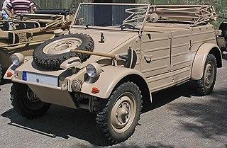 VW Kübelwagen sand