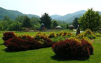 Valle Crucis, North Carolina - The Valle Crucis Community Park.