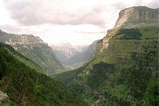 valley in Sobrarbe, Spain