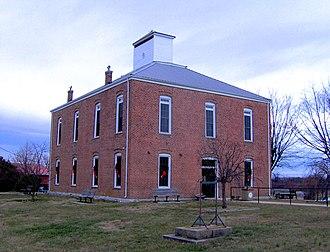 Van Buren County, Tennessee - Image: Van buren county tennessee courthouse 1