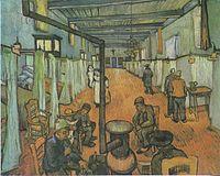 Van Gogh - Schlafsaal im Hospital in Arles.jpeg