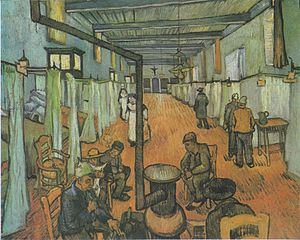 Dormitory in the Hospital in Arles