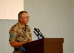Norbert van Heyst - Bundeswehr General Norbert Van Heyst in 2003. (NATO Photos)