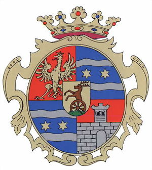Counties of Croatia - Image: Varasd coatofarms
