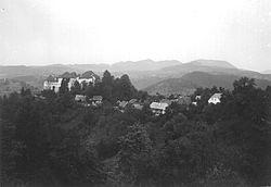 Vas Turjak z gradom Turjak 1907.jpg