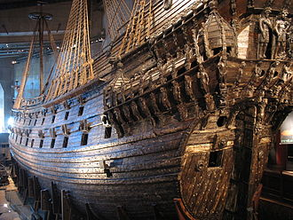 Stockholm during the Great Power Era - The ship Vasa gives idea of the era.