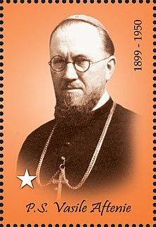 Vasile Aftenie romanian greek-catholic bishop