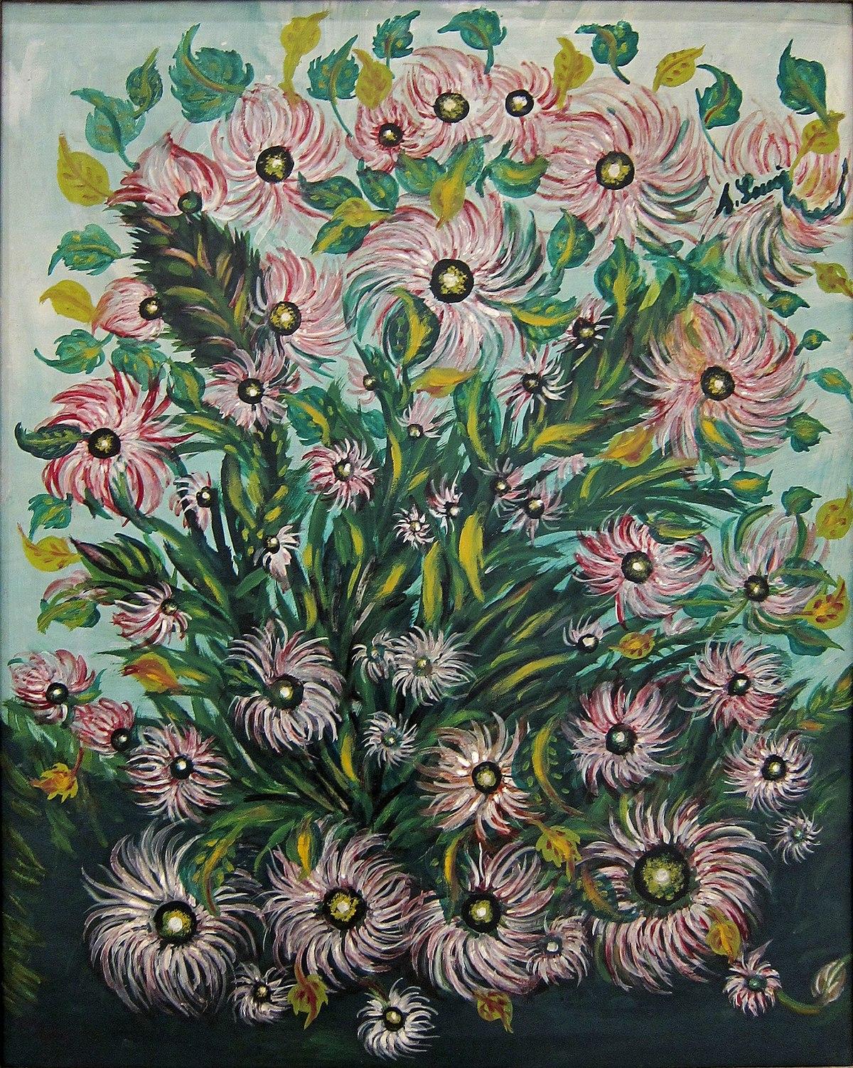 S raphine louis wikipedia wolna encyklopedia for Bouquet de fleurs wiki