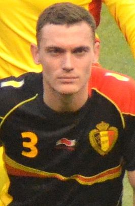 Vermaelen Belgium National Team vs USA 2013 (cropped).jpg