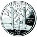 Vermont quarter, reverse side, 2001.png
