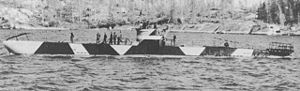 Finnish submarine Vesikko, which served as a direct prototype for German Type II