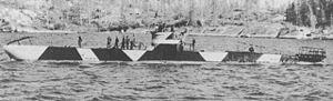 Finnish submarine Vesikko - Image: Vesikkoa