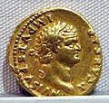 Vespasiano, aureo per tito cesare, 72-79 ca. 05.JPG