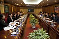 Vicecanciller Marco Albuja se reúne con Vicedirector General del Grupo de Telecomunicaciones de Vietnam (8414254132).jpg