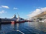 Victoria Mxenge in Simon's Town Harbour.jpeg