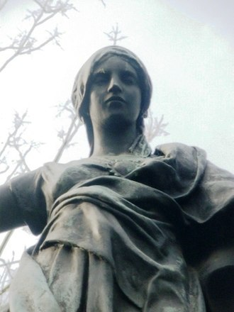 Alfred Turner (sculptor) - Image: Victory Figure on Fulham War Memorial 6