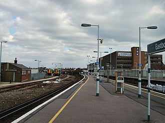 Eastbourne railway station - Eastbourne in 2006
